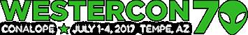 westercon 70 logo